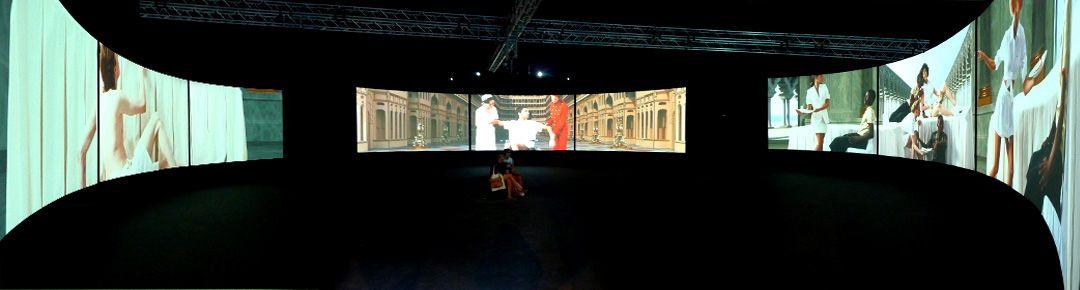 AES+F, installation multimedia, Biennale de Venise, 2009